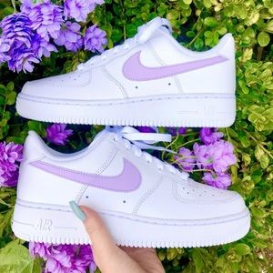 Lilac custom air force 1